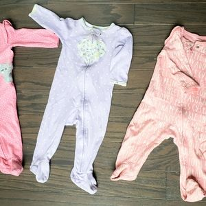 Bundle 3 piece ☆ 9 months sleepers.